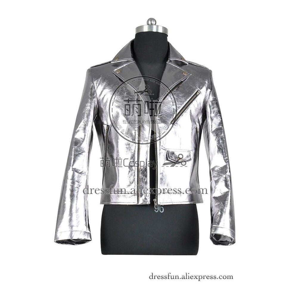 X-Men Apocalypse Cosplay Quick Pietro Maximoff Costume New Jacket Silver Coat X Men Halloween High Quality Daily Life Adult