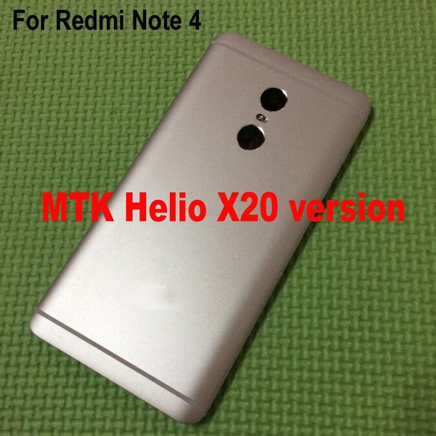 bilder für Batteriefach für Xiaomi Redmi Hinweis 4 Hinweis4 Pro Prime Hinten zurück Batteriedeckel Gehäusedeckel + Volume Power Schlüssel Ersatzteile