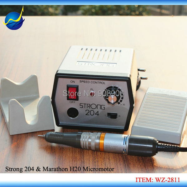 New Professional Dental Lab Drill Micro Motor Marathon H20