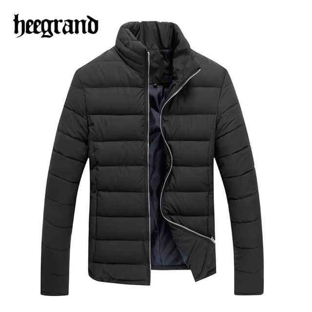 Hee grand homens moda casaco quente gola fino espessamento casacos masculino de todos os jogo casaco breasted único mwm1413