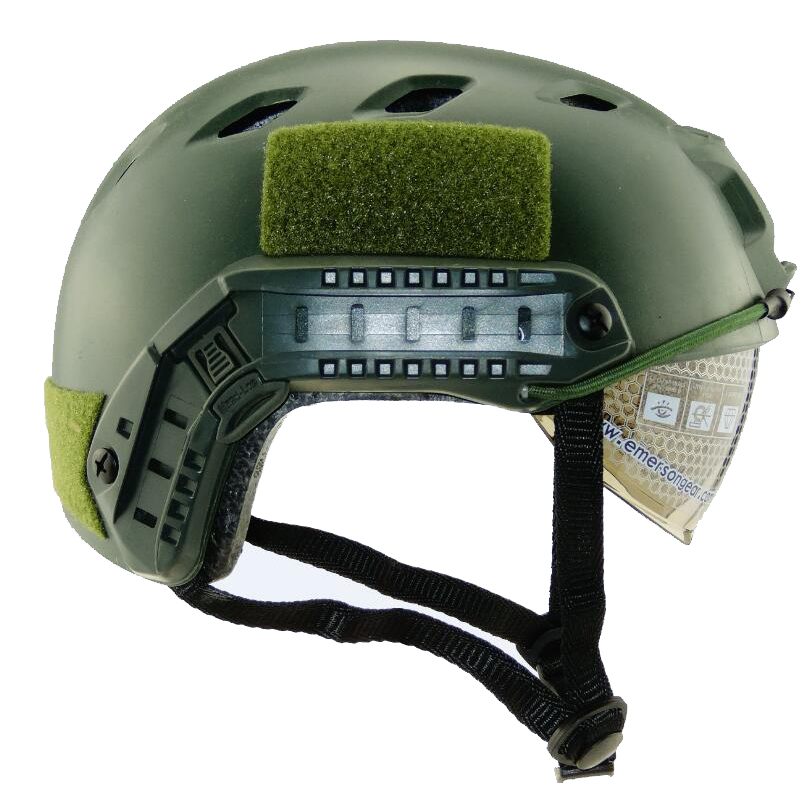 Military Tactical Fast BJ Helmet Airsoftsports Paintball Goggle ARC Vas Shroud Camouflage