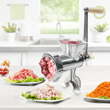 цена на Manual Aluminum Alloy Meat Grinder Household Multi-function Cooking Machine For Meat Grinder Grinding Machine Sausage Machine