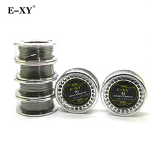 E-XY Alien Clapton Heating Wire A1 Flat Wire 5m/roll 15 Feet Vape DIY Core for RDA RBA Rebuildable Atomizer Vaporizer coils