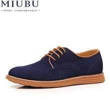 MIUBU 2019 Big Size 47 Men Business Casual Shoes Fashion Breathable Brand Male Large Flats Designer Footwear