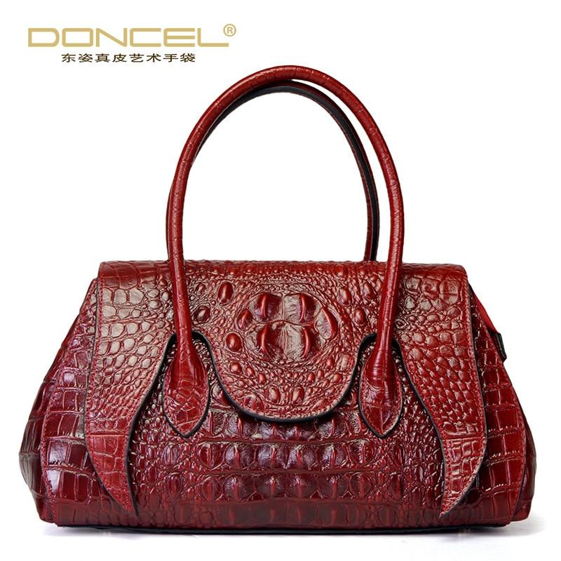 syigw patrn de cocodrilo bolso nueva bolsa de hombro del mensajero bolsos de cuero de moda