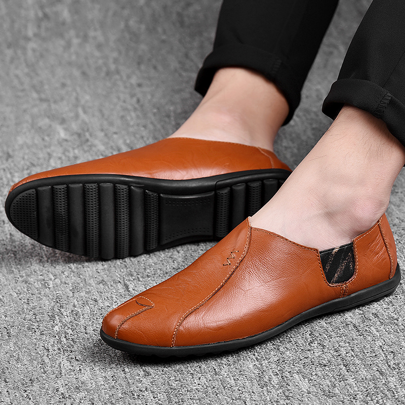 HTB169eQatjvK1RjSspiq6AEqXXa7 Leather Men Shoes Luxury Brand 2019 Italian Casual Mens Loafers Moccasins Breathable Slip on Black Driving Shoes Plus Size 38-47