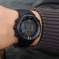 Top Brand OTS Cool Black Watch Men Fashion Large Face LED Digital Swimming Climbing Outdoor sport watches for men