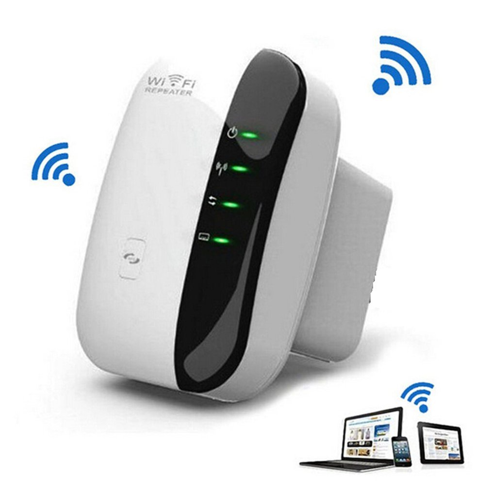 Amplificador de Sinal Repetidor Wi-fi sem fio Extensor de Alcance Wi-fi 300 Mbps 802.11N/B/G Wi fi Impulsionador Repetidor Reapeter ponto de acesso