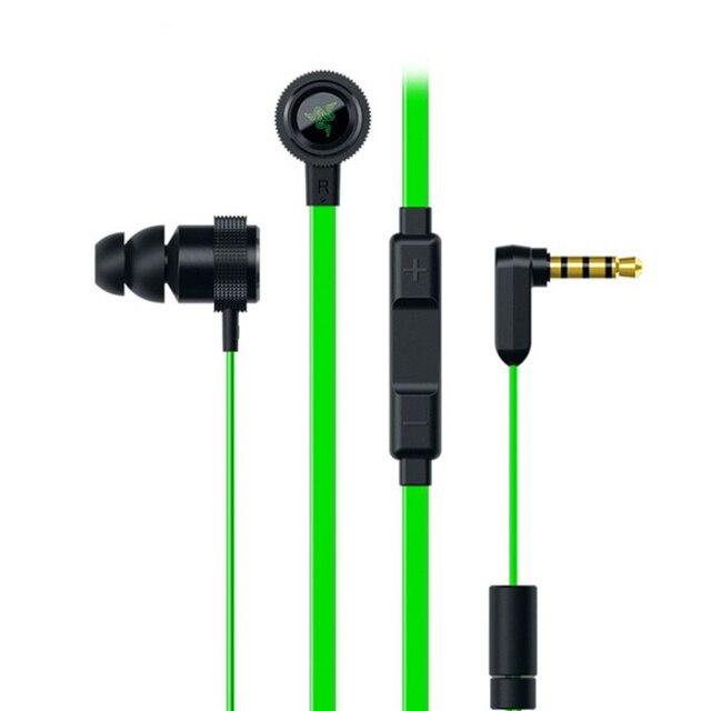 Em Ear Headphone Gaming Razer Martelo V2 Pro Fone de Ouvido Com microfone de Ouvido Auricular Estéreo Graves Profundos Isolamento de Ruído para o telefone PC