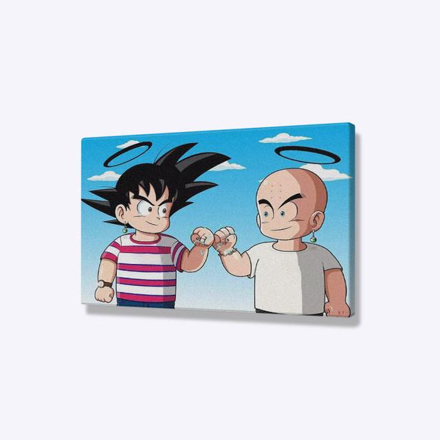 Goku Dragon Ball Z Dbz Poster Wall Art Canvas Living Room Home Bedroom Study Dorm Prints