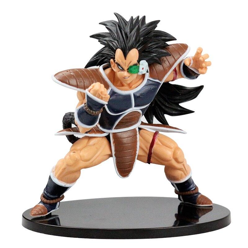 все цены на 2017New Height Raditz Super Saiyan Budokai 5 Five PVC Action Figure Anime Dragon Ball Z Figurine Collection Model Toys онлайн