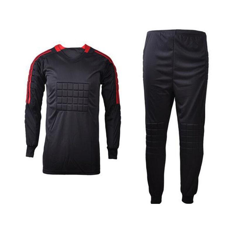 f18b7ac021 Preto pode diy personalizado nome num dos homens conjuntos da equipe de  futebol goleiro goleiro uniformes