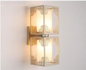Classical Wall Sconce LED Wall Lamp For Hotel bedroom bedside lamp METAL Complex Modern 1/2 Heads Wall Light Art Decor
