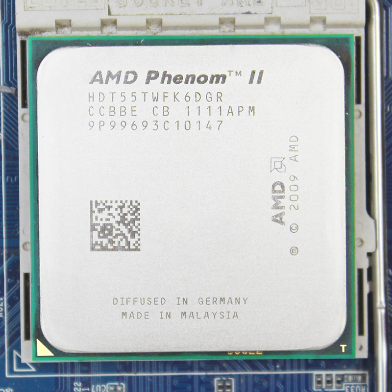 AMD Phenom II X6 1055T 95W CPU processor 2.8GHz AM3 938 Processor Six-Core 6M Desktop CPU 95W 2