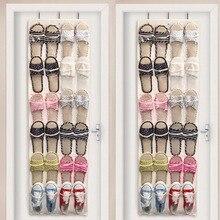24 Grids Door Wardrobe Hanging Organizer Socks Ties Shoes Storage Bag Home Shoes Holder Tidy Organizer Rack Storage Bag