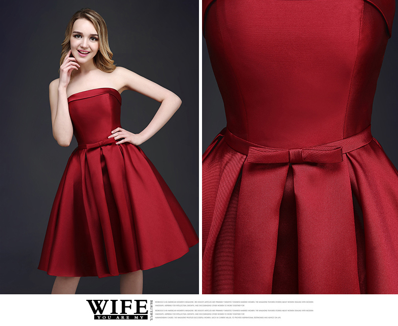 Red Wine Colored Dresses Wedding Gallery