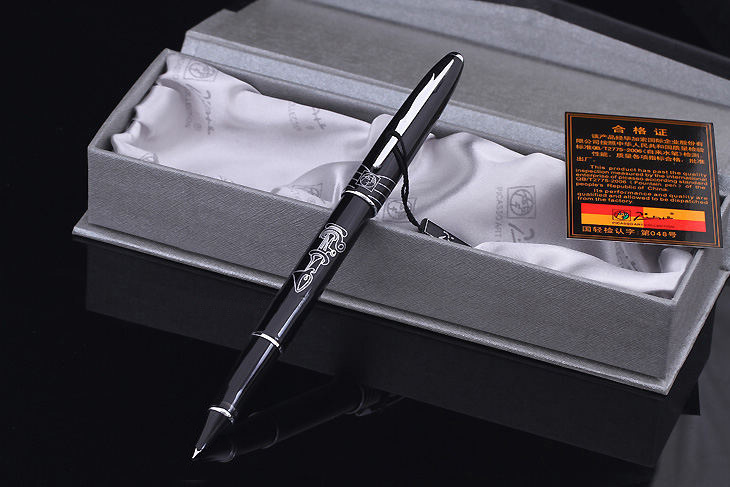 black real Picasso 606 Fountain Pen business gift pen free shipping   school and office Writing Supplies send teacher 0.38mm real picasso 926 fountain pen business gift pens free shipping school and office writing supplies send teacher father friend 002