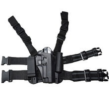 Tactical Leg Thigh Holster w/ Magazine Torch Pouch For Sig Sauer P226 Gun Holster Right Hand Quick Drop Tactical Belt Holster цена и фото