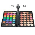 Nueva Moda Profesional 28 Color Nude sombra de Ojos Paleta de Maquillaje Cosméticos Set De Belleza Para Elegir