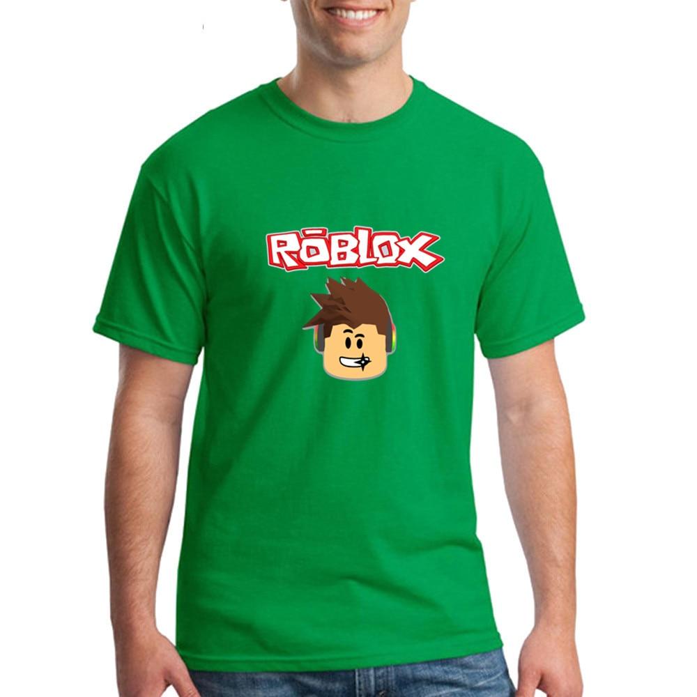 Nueva ropa de alta calidad de los hombres Roblox camisetas