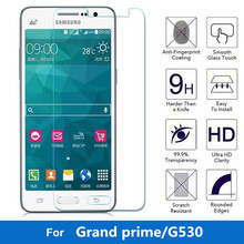 9H 2.5D 0.3mm Tempered Glass for Samsung Galaxy Grand Prime Screen Protector G530 G5308 G530W Tempered Screen Film phone case(China)