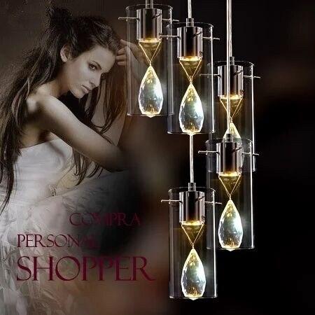 цена на romantic high quality K9 crystal flower glass 13/5/6 heads led pendant light for living room dining room AC 80-265V 1091