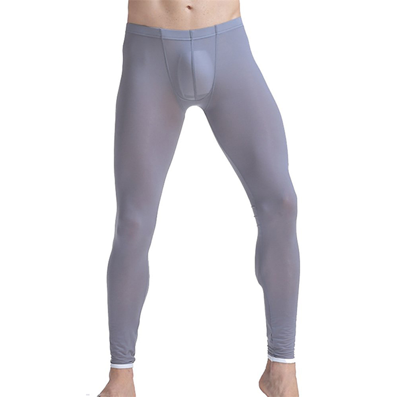 Leggings Thermal-Underwear Long-Johns Little Tights Base-Layer Ice New Silk See-Through
