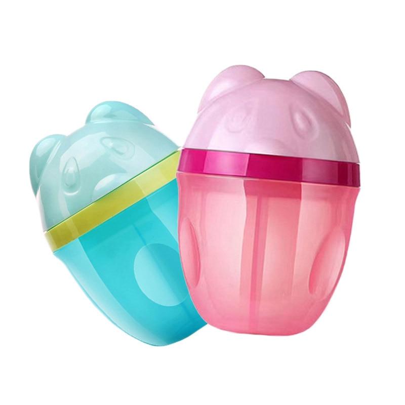 2018 Neue Baby Milch Pulver Behälter Cartoon Formel Lebensmittel Lagerung Spender Infant Kunststoff Aufbewahrung Von Säuglingsmilchmischungen Flaschenzuführung