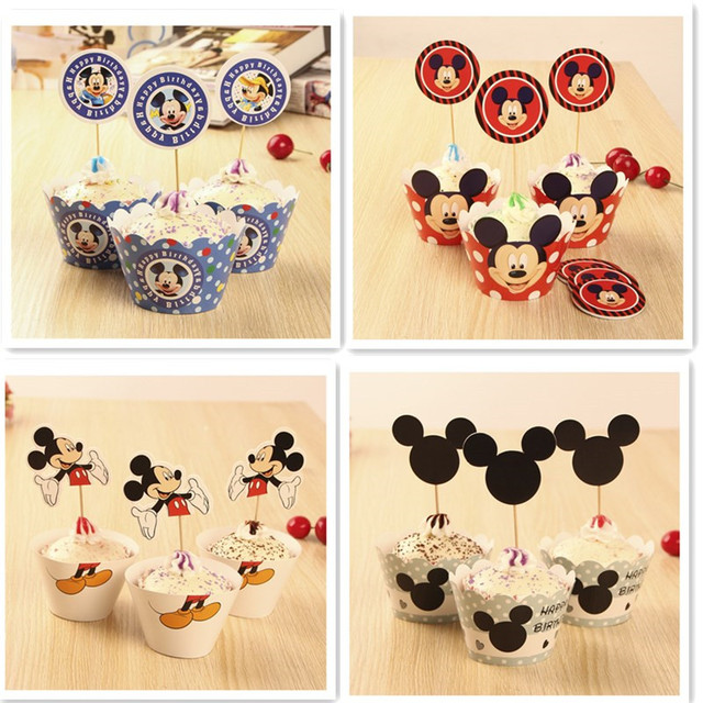 Mickey Mouse Style Set