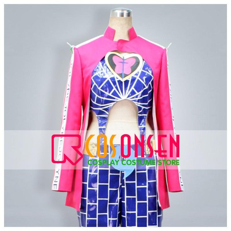 JoJo's Bizarre Adventure Stone Ocean Jolyne Cujoh Cosplay Costume All Size COSPLAYONSEN Custom Made