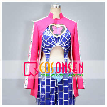 JoJo's Bizarre Adventure Stone Ocean Jolyne Cujoh Cosplay Costume All Size COSPLAYONSEN Custom Made - DISCOUNT ITEM  0% OFF All Category
