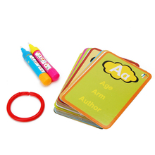 Children Magic Book With 2 Magic Water Drawing Pen Graffiti Card Educational Toy W30