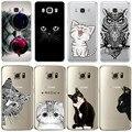 Coque para iphone 5 5s se 6 6 s 7 plus case para samsung galaxy a3 A5 J3 J5 2016 2017 S3 S4 S5 S6 S7 Borda TPU Macio Capa de Silicone