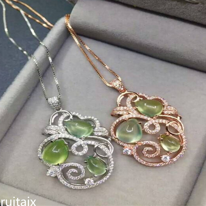 KJJEAXCMY boutique jewels 925 Pure silver inlay natural vine  vines female money pendant inlay jewelryKJJEAXCMY boutique jewels 925 Pure silver inlay natural vine  vines female money pendant inlay jewelry