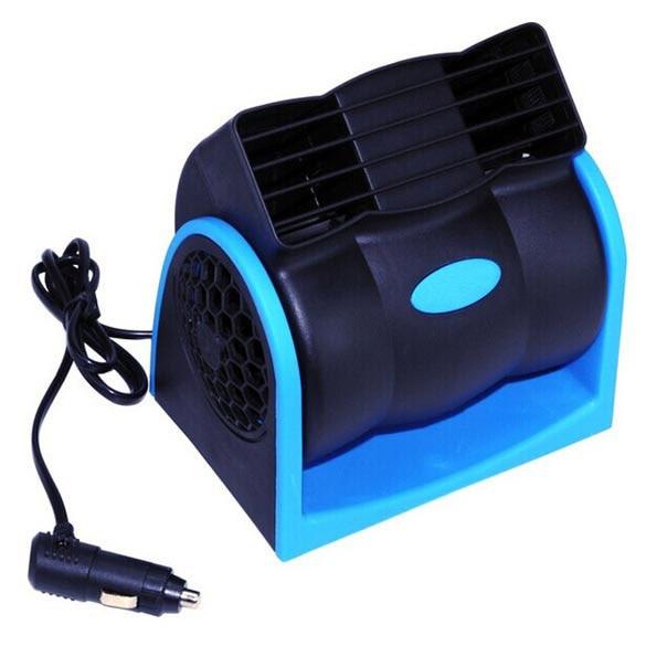 Car Vehicle Truck Cooling Air Fan 12V Adjustable Silent Cooler Speed Car Auto Cooling Fan For Summer ME3L