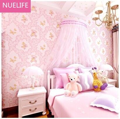 Us 3282 11 Off053x10 M 3d Kartun Beruang Wallpaper Pria Dan Wanita Anak Anak Kamar Tidur Ruang Tamu Restoran Latar Belakang Dinding Dekorasi