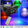 НОВЫЙ Мини Голос Автоматического Управления 48 гобо 3 объектива R & G Лазерный Свет Проектор освещения Этап Диско DJ Xmas Партия Показать Star Club Bar