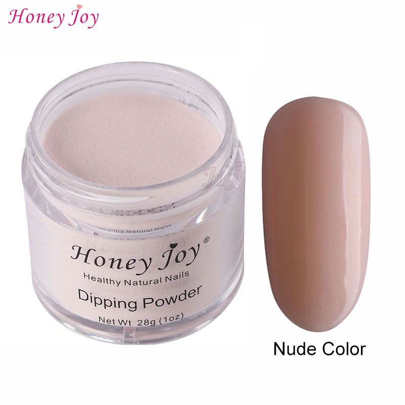 28g/Box Nude Color Easy-To-Use Dip Powder Nails Dipping Nails Long-lasting Nails No UV Light Needed Safe Odorless