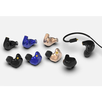 BGVP DMG 2DD+4BA Hybrid Earphone CNC Metal HiFI DJ Monitor Earphones with Mic 5N OCC Cable DIY Tuning Nozzles for Audiophile