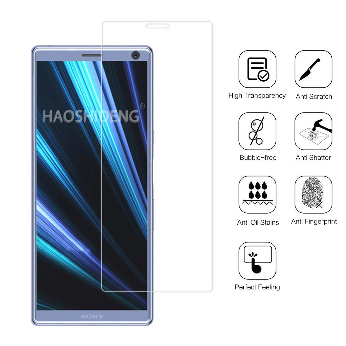 For Sony Xperia XZ4 Tempered Glass 9H High Quality