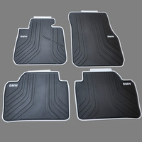 Custom Rubber Car Floor Mats Waterproof Anti Skid Carpets for 2012 2018 Year BMW 3 Series 35 F30 320i 328i 318