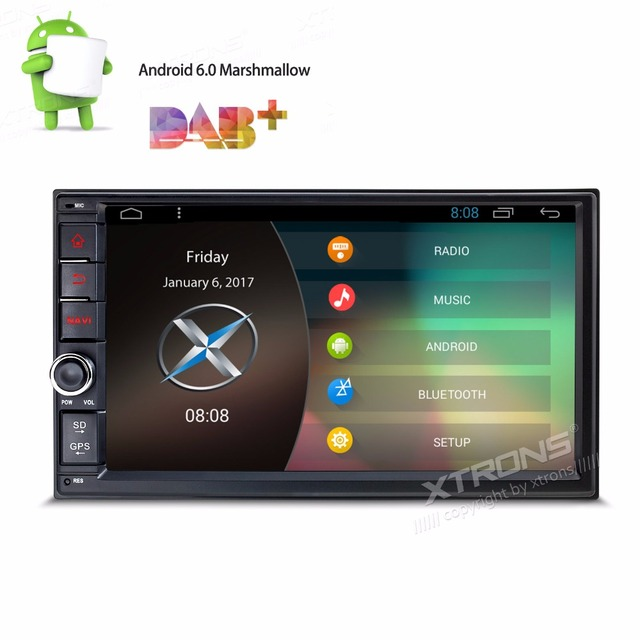 7 Android 6 0 2Din Car Stereo Radio NO DVD Player GPS Navi Quad Core OBD+ CAM