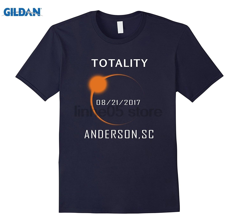 GILDAN Anderson,SC Total Solar Eclipse August 21 2017 T Shirt summer dress T-shirt