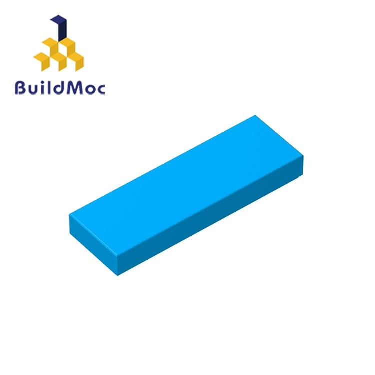 BuildMOC Compatible Assembles Particles 63864 1x3 For Building Blocks Parts DIY LOGO Educational Gift Toys