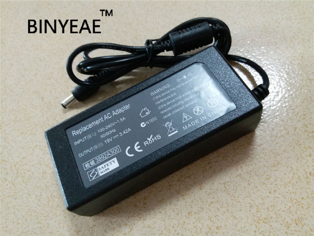 19 V 3.42A 65 w AC DC Мощность адаптер Зарядное устройство для ASUS N10E N10J N10JH U45 U35JC