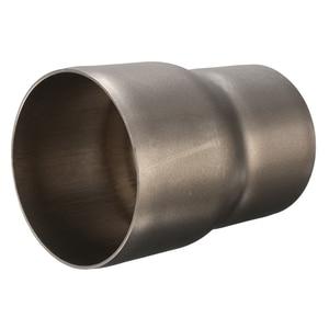 Image 4 - 1 Pcs 스테인레스 스틸 오토바이 배기 튜브 어댑터 감속기 60 ~ 51mm 3.31 인치 길이 오토바이 배기 파이프 액세서리