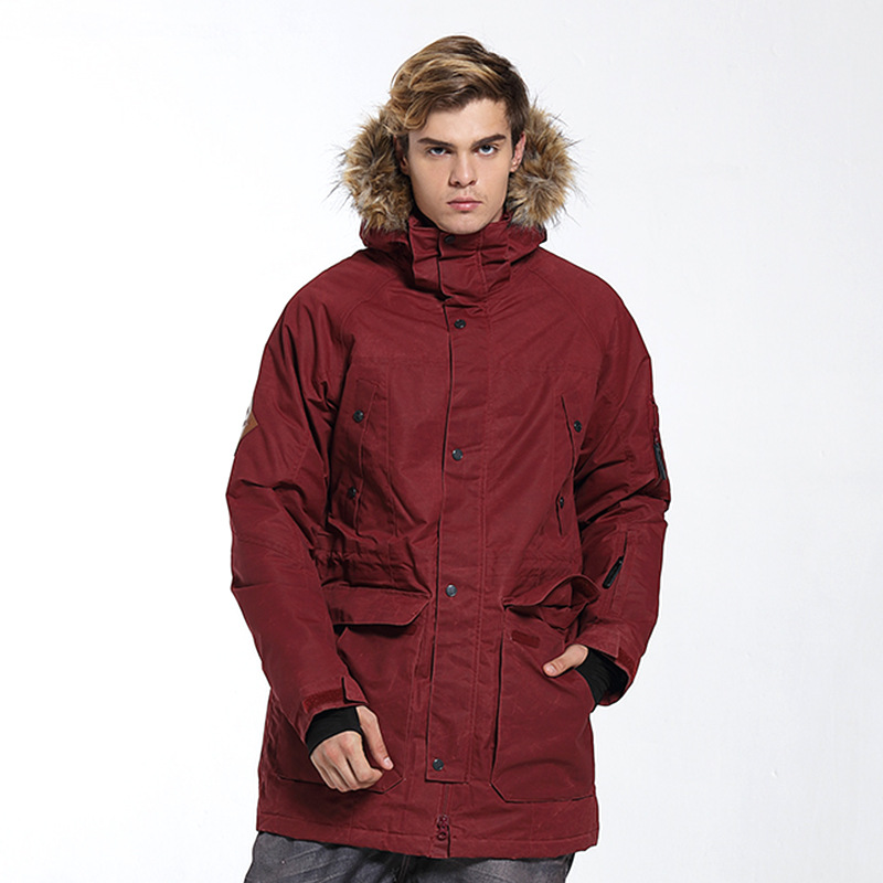 New Brand Ski Jacket Men High Quality Snowboard Jacket Snow Clothes Warm Men Outdoor Sportswear Windstopper стоимость