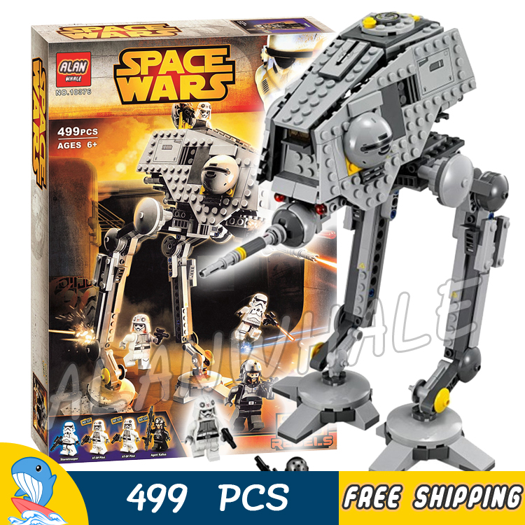 499pcs New Space Wars AT-DP Robots 10376 Model Building Blocks Toys Gift Rebels animated TV series Bricks Compatible With Lego toys in space