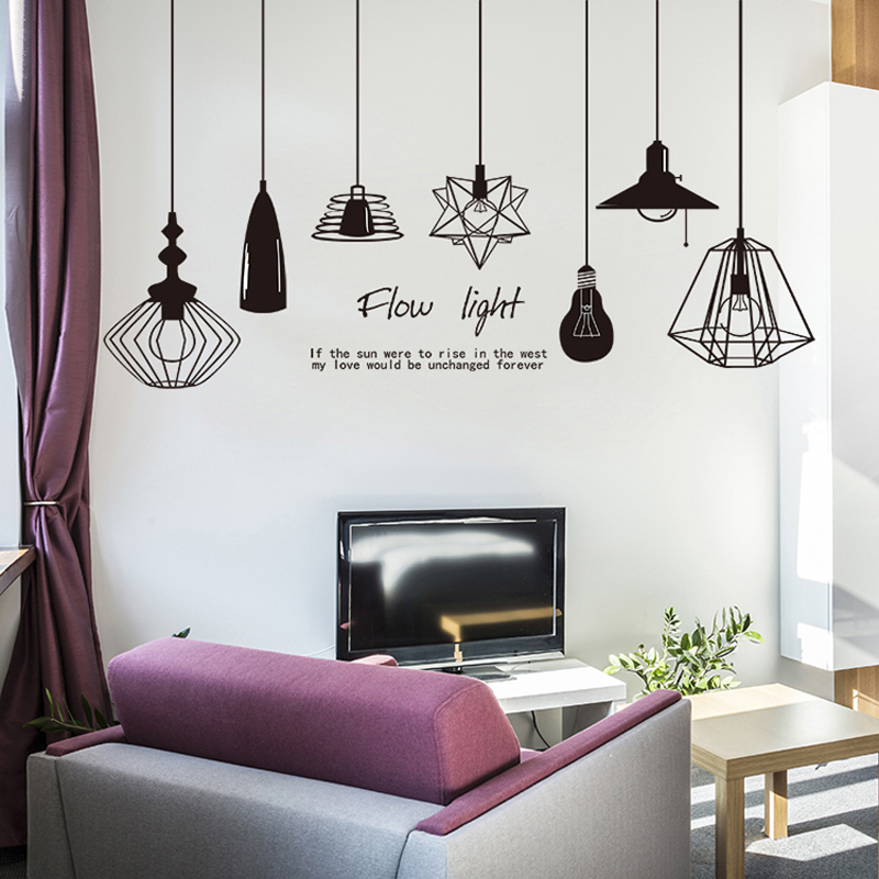Modern Home Decoration Stickers on the Wall Sticker Decor Living Room Film Self Adhesive Wallpaper Bedroom Room Decor Vinyl 57
