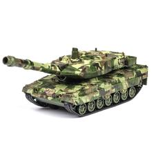 1:32 diecast tank alloy toy model simulation military ground tank children toy car sound and light pull back decoration gift